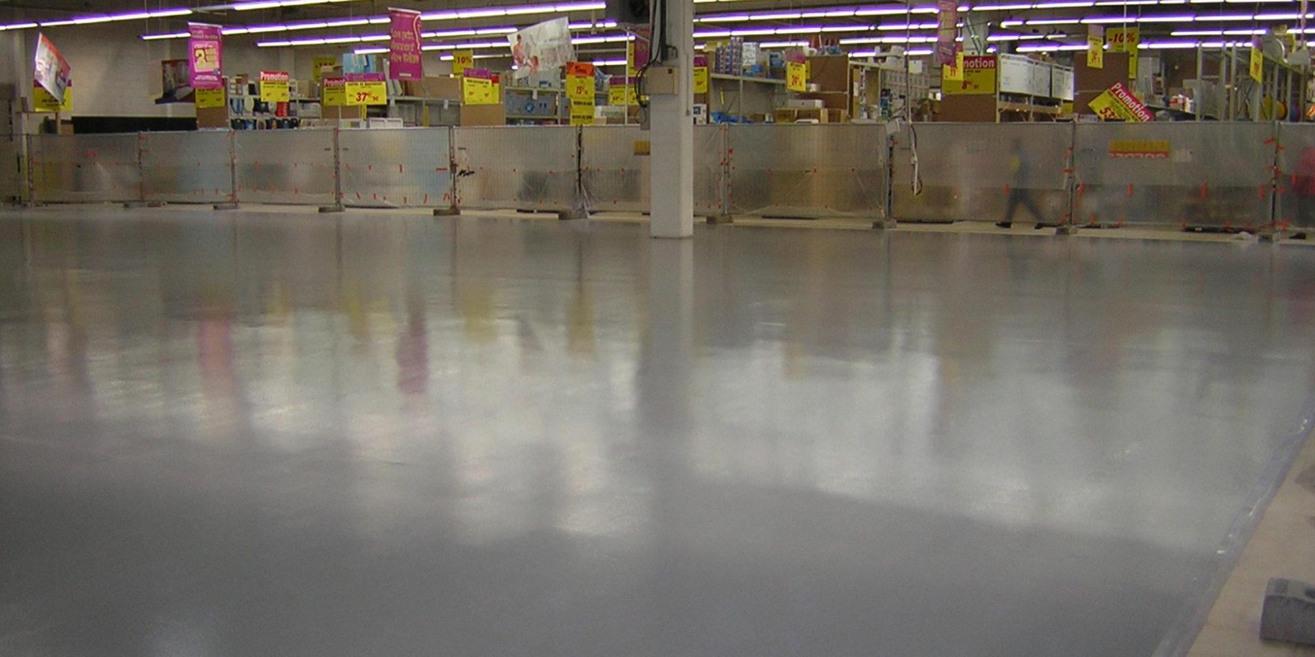 Revêtement de sol haute résistance mécanique et chimique