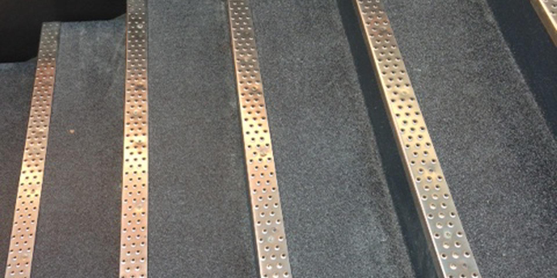 Revêtement de sol extérieur anti-glissant
